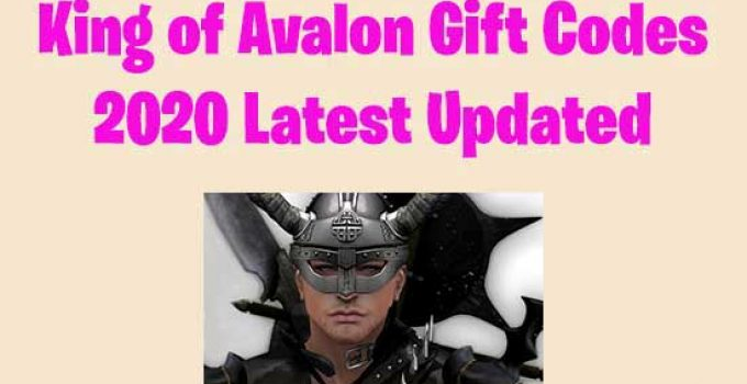 List of Working King of Avalon Gift Codes for 2020
