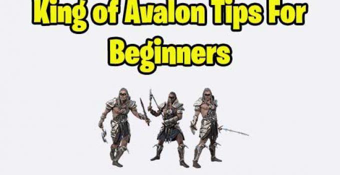 king of avalon tips